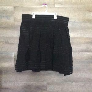 Torrid 2 black skirt